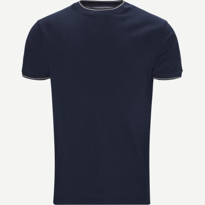 Croix Crewneck T-shirt Regular | Croix Crewneck T-shirt | Blå